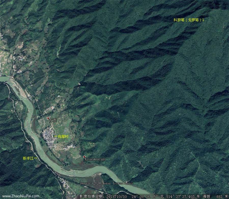 戈罗耸翠卫星地图