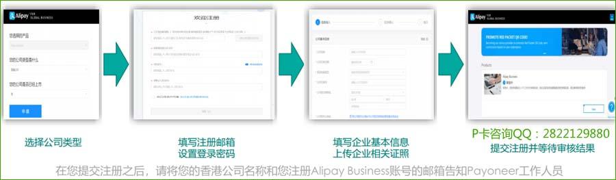 在线注册申请AlipayBusiness